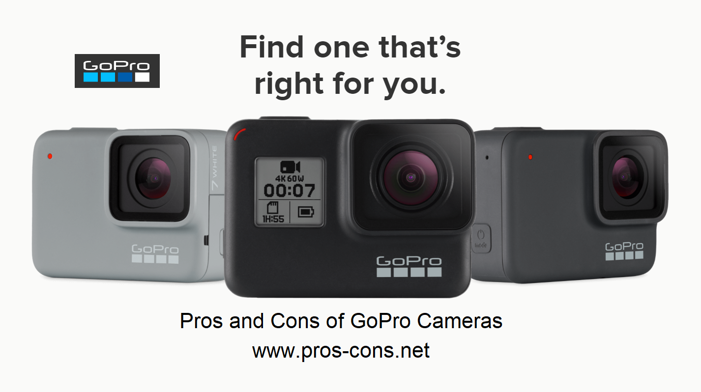 Pros and Cons of GoPro Cameras