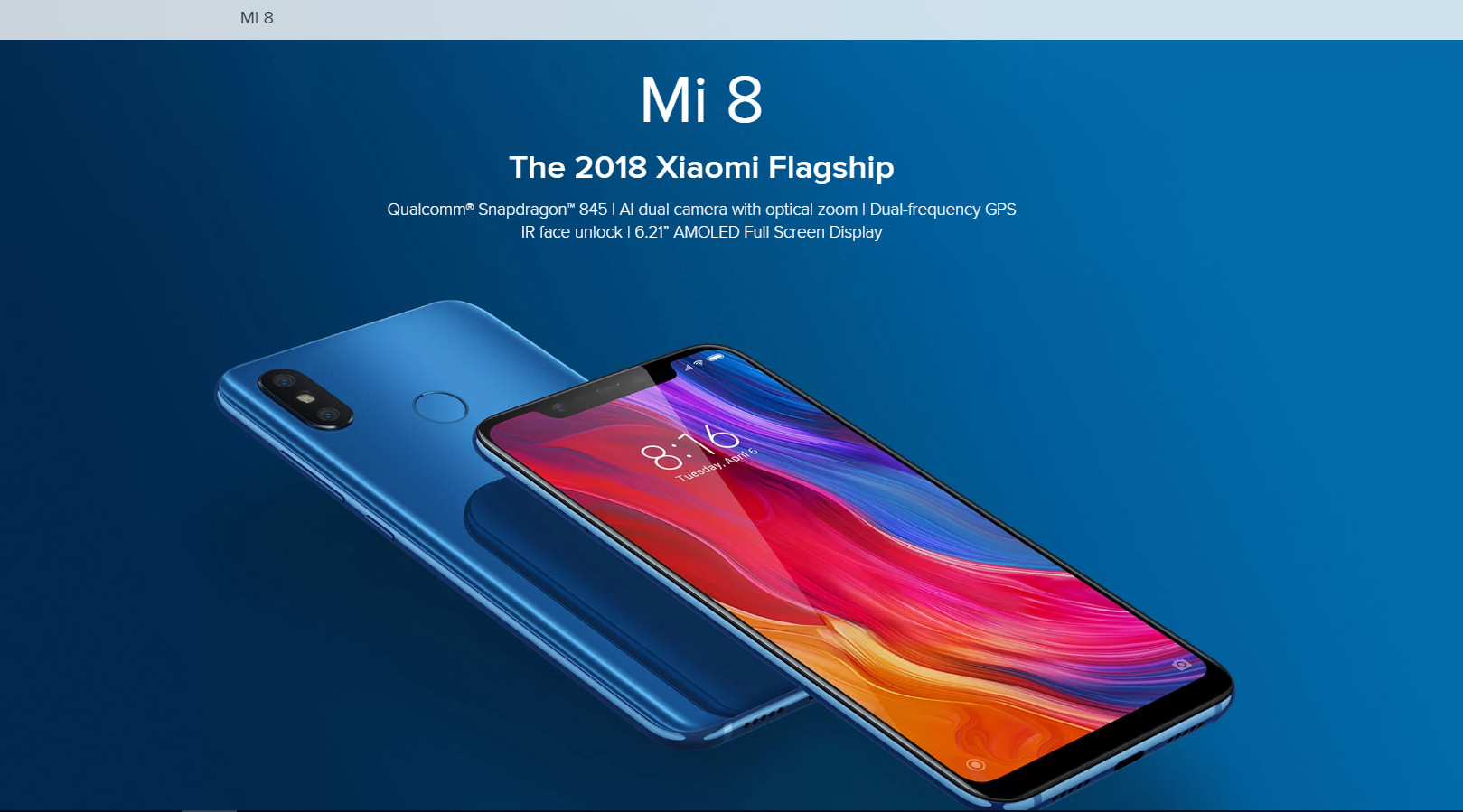 Pros and Cons of Xiaomi Mi8